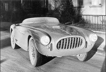 custom spyder body from Vignale