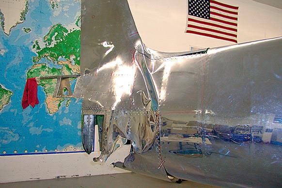 Hughes H1 Racer Repairs