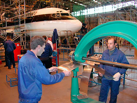 TM Technologies Aircraft Metal Fab Repair Workshop Ireland