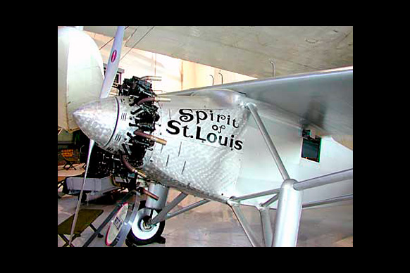 Spirit of St Louis Weeks Aircraft Kent White Consult
