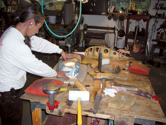 Metalworking Fundamentals Workshop Class with Kent White