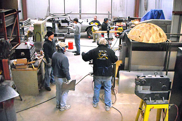 San Antonio, TX: Shaping Sheet Metal for Cars, Bikes, Airplanes, & Sculpture