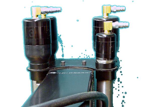 Air hammer accessories for tm technologies air power hammers for Air powered gear motor
