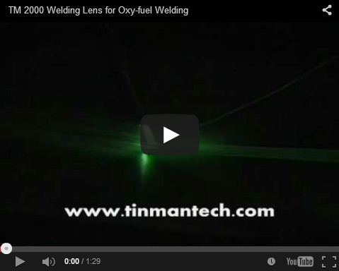 TM2000 Welding Lens for Oxy fuel Welding