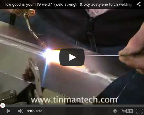 How good is your tig weld?