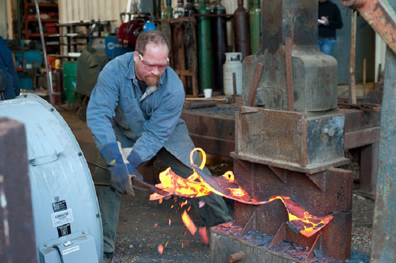 Schroeder Art Studios Metalworking Art Workshop